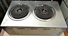 "Wells H-63 14 3/4"" Electric Counter top Two Burner Hot Plate -"