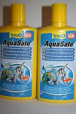 2 xTETRA AQUASAFE TAP WATER CONDITIONER 500ML ROYAL MAIL FIRST CLASS POST