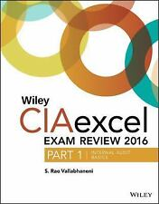 Wiley CIA Exam Review: Wiley CIAexcel Exam Review 2016 : Part 1, Internal...