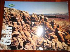 LAND Rover Gear RANGE opuscolo 1999 Gifts & Leisure Wear
