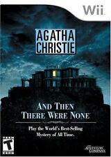 Agatha Christie: And Then There Were None (Nintendo Wii, 2008) -- FREE SHIPPING!