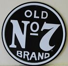 """JACK DANIEL'S 12"""" metal sign OLD No 7 BRAND Tennessee sour mash whiskey 1312"""