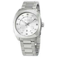 Gucci GG2570  Quartz Silver Dial Mens Watch YA142308