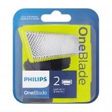 Philips OneBlade QP220/50 Recambio Cabeza Cuchilla - MEJOR PRECIO - 2 Cuchillas