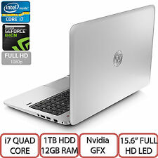 "HP Envy 15-J186SA Intel Core i7 Quad Core 15.6"" Full HD LED 1TB HDD 12GB Ram UK"