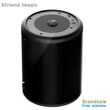 New iMAGIC PI mini ITX Cylindrical Art Deco Computer case Black + Free Express