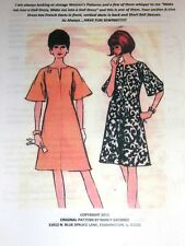 NG Creations Sewing Pattern 1966 Bell Sleeve Dress fits Barbie Tammy Dolls