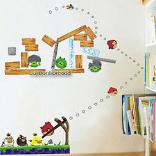 Angry Birds Reutilizable pegatinas de pared kids/nursery/boys / Sala De Niños calcomanías