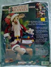 Dimensions 1997 Bottle Buddies Santa Deer Soft Doll Home Decor Kit