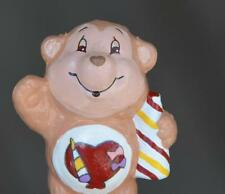 CUSTOM Vintage Kenner PVC Care Bear Cousin PLAYFUL HEART MONKEY Toy Figure 2""