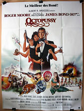 Roger Moore : Maud Adams : Octopussy : POSTER