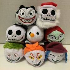 8pcs Disney TSUM TSUM  Halloween Christmas Plush Toys Jack Zero Barrel Nightmare