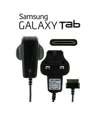 "Replacement Samsung UK Wall Charger for Galaxy Tablet 10.1 "" 8.9"" 7"" Tab 2 Black"