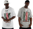 ROCAWEAR MENS BOYS STAND UP SUMMER HOLIDAY T-SHIRT TIME IS HIP HOP MONEY TEE