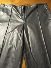 Sinequanone Shiny Gray Women's Casual Dressy Pants EU Size 42 US Size 14 NWOT