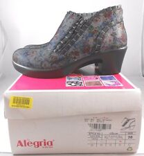 New Alegria Hannah multi dot floral booties. sz38. RT$149. Authentic!