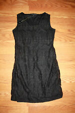 NWT Womens TIANA B. Black Lace Sleeveless Dress Size XXL 2XL $98
