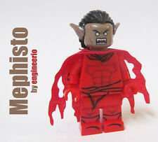 LEGO Custom - Mephisto - Minifigure Marvel ghost rider daredevil ironman