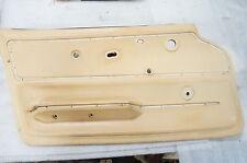 1965-1966 Corvette Convert ORIGINAL Door Panels WHITE NICE