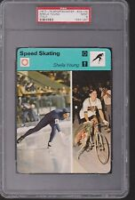 1977-79 Sportscaster Speed Skating Sheila Young PSA 9