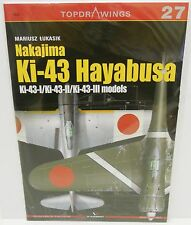Kagero Publishing - Top Drawings 27 - Nakajima Ki-43 Hayabusa       Book     New