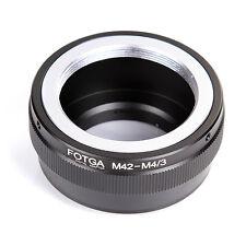 FOTGA Adapter for M42 Lens to Micro 4/3  E-P1 GF3 Olympus Panasonic  DSLR Camera