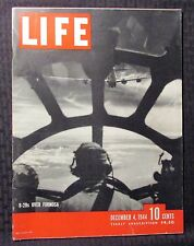 1944 December 4 LIFE Magazine VG 4.0 B-29s Over Formosa Cover Great Vintage Ads