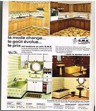 Publicité Advertising 1978 GME sanitaire