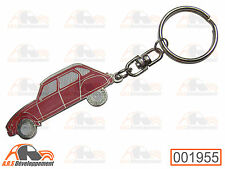 PORTE CLE / KEY HOLDER - Citroen DYANE - ROUGE / RED  -1956-