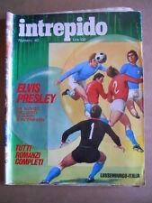 INTREPIDO n°40 1972  Mike Bongiorno Elvis Presley John Surtees   [G361]