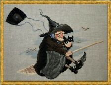 Nimue Cross Stitch Chart # 109 - Babayaga - Witch