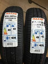 MAXXIS 155/65R14 75S NEW BUDGET CAR TYRES 155 65 14 HIGH QUALITY C B RATING