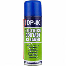 3 x 250ml Electrical Contact Cleaner Switch Clean Aerosol Spray Can Dirt Remover