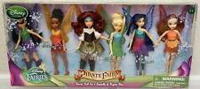 Disney Pirate Fairies Tinkerbell Mini Doll Set Zarina Fawn Silvermist Iridessa