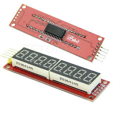 Red MAX7219 8-Digit LED Display Module Digital Tube for Arduino SPI Control Hot