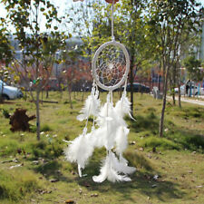 Handmade Dream Catcher Net With feathers Hanging Decoration Craft Gift New