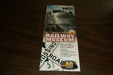 2013 ILLINOIS RAILWAY MUSEUM TIMETABLE AND BROCHURE