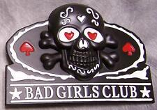 Pewter Belt Buckle novelty Bad Girls Club  NEW