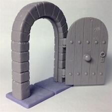 Practicable Door (open and close) for 28mm miniatures, heroquest, wargames