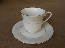 CROWN MING Royal Palm COFFEE CUP and SAUCER   Jian Shiang Fine China  GREAT!