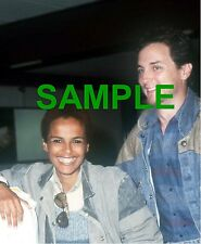 ORIGINAL 1985 PRESS TRANSPARENCY NEGATIVE - SHARI BELAFONTE & ROBERT HARPER