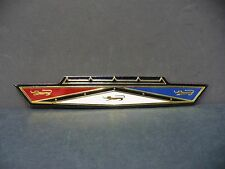 63 Ford Galaxie hood release handle emblem grill