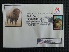 USA BISON BISONS WISENT WISENTE BUFFALO SELF MADE COVER c4746