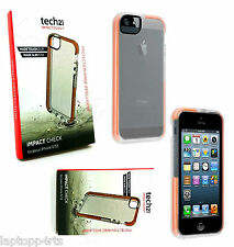 Genuine Tech 21 D30 impacto cheque dropproof Estuche Cubierta para iPhone 5s Se & 5 claro