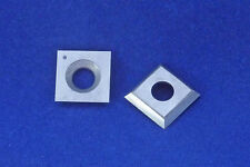 "Square 14mm (.550"") Carbide Insert Cutter For Wood"