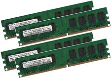 4x 2GB 8GB SAMSUNG RAM DDR2 800 Mhz 240 pin DIMM PC2-6400U f Intel Desktop PC