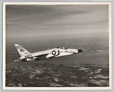 1960 GRUMMAN F11F F-11 TIGER Vintage OFFICIAL US NAVY Photo / NAS OCEANA