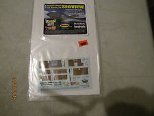 Lot Voyage to the Bottom of the Sea Movie Seaview Interior Decals 1/128 Scale