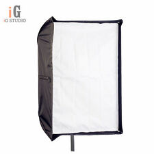 Photo Studio 80cm x 120cm Umbrella Rectangle Softbox For SpeedLight/Flash