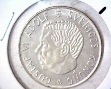 New listing 1955 Sweden Silver 5 Kroner Coin Km#829 Brilliant Uncirculated .2315 Asw-#1